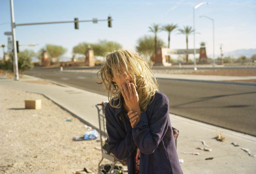 Cindy with her wig. Las Vegas, Nevada 2016 © Thilde Jensen
