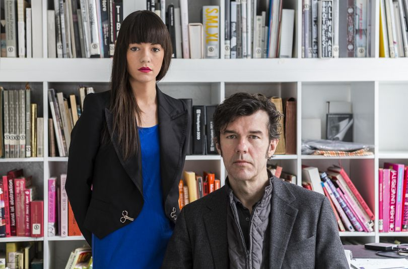 The press area on [Sagmeister & Walsh](https://sagmeisterwalsh.com/press/)'s website featured quality portraits