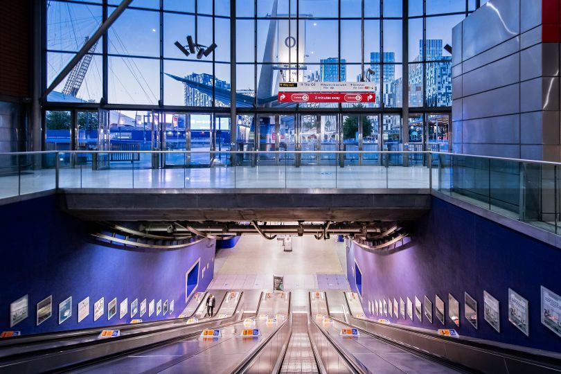 North Greenwich Underground Station, 5 May 2020 © Jan Enkelmann