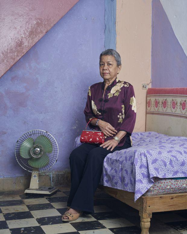 Rosario, at her home in Calle Cuchillo, Habana, Cuba, 2019 © Sean Alexander Geraghty