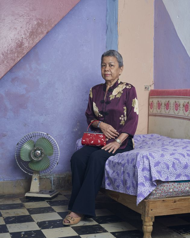 Rosario, at her home in Calle Cuchillo, Habana, Cuba, 2019 © Sean Alexander Geraghty