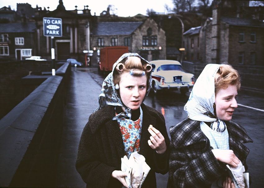 Mill Girls, Elland, Yorkshire, 1965 © John Bulmer