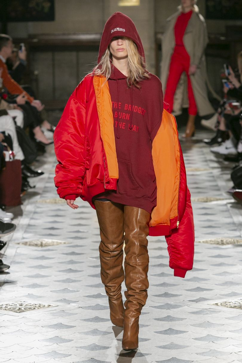 VETEMENTS Ready to Wear, Autumn/Winter 2016. Photo credit: Gio Staiano