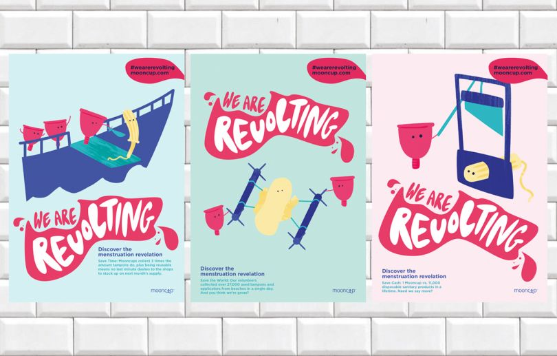 We Are Revolting by Milly Hilton. All images courtesy of Shillington and its students.
