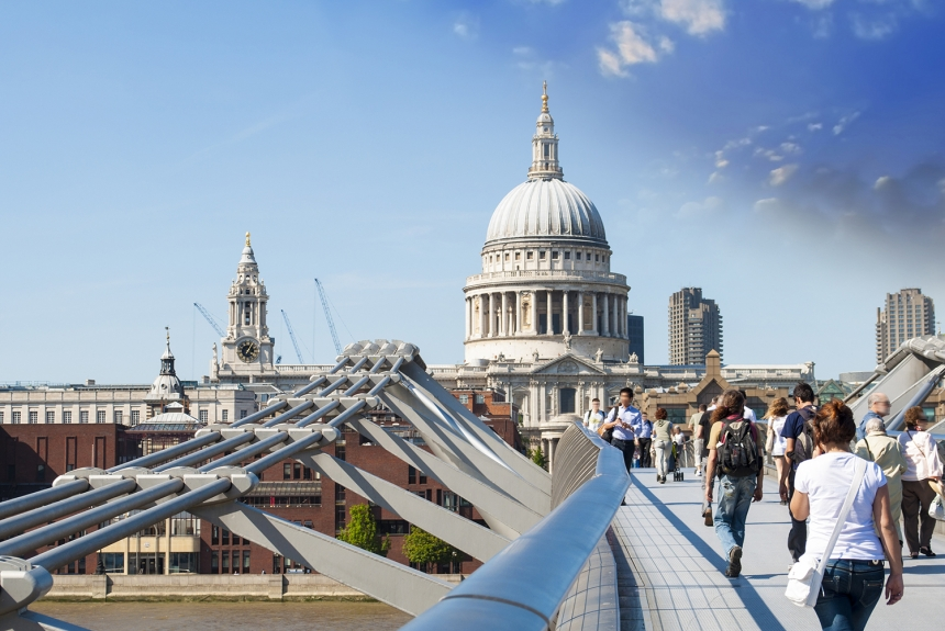 St Paul's Cathedral | Image courtesy of [Adobe Stock](https://stock.adobe.com/uk/?as_channel=email&as_campclass=brand&as_campaign=creativeboom-UK&as_source=adobe&as_camptype=acquisition&as_content=stock-FMF-banner)