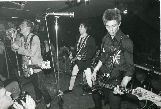 Clash, 1970s © Ray Stevenson. Courtesy of Rex Shutterstock.