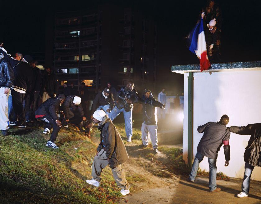 Mohamed Bourouissa La République, 2006 From the series Périphérique © Mohamed Bourouissa, Kamel Mennour, Paris & London and Blum & Poe, Los Angeles