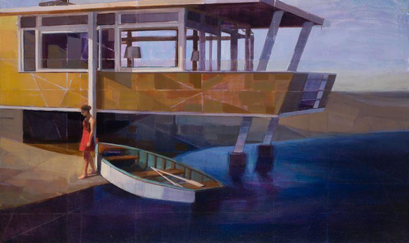 Waterline, Oil on Canvas, 36