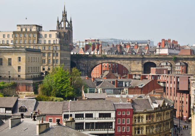View of central Newcastle from Gateshead. Image credit: [Shutterstock.com](http://www.shutterstock.com/)