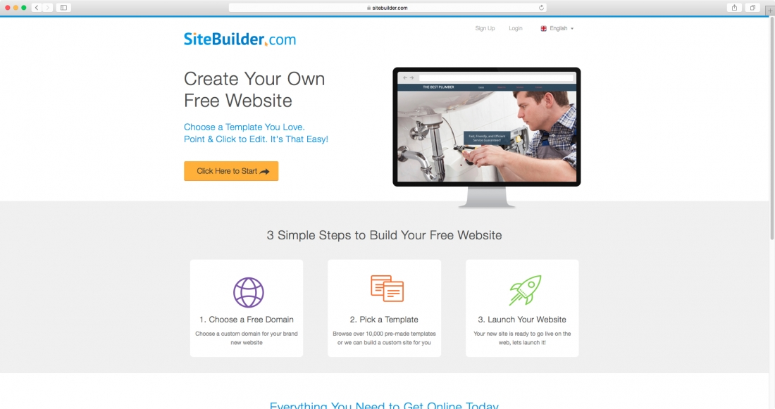 boasting over 10000 templates sitebuilder is the king of templates setting out to deliver quick and easy site building with a minimum of hassle and