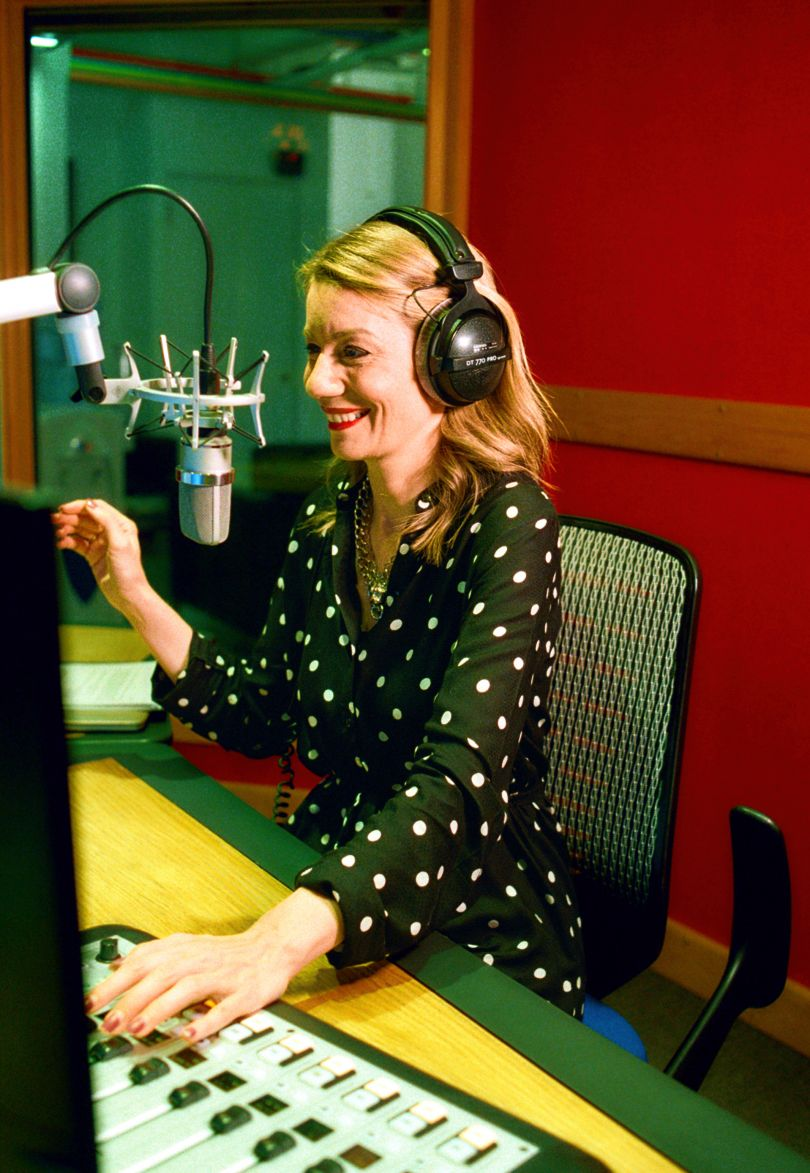 Kait Borsay, News and Sport Presenter, Producer and Voiceover Artist and Co-founder of Offside Rule podcast. © Eliza Hatch