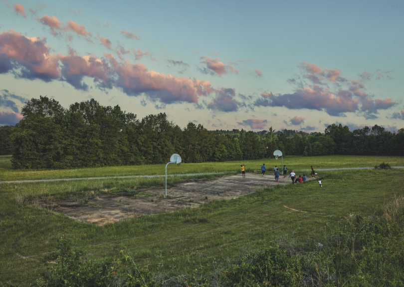 Grounds of Snow Hill Institute, Snow Hill © Andrew Moore, from Blue Alabama