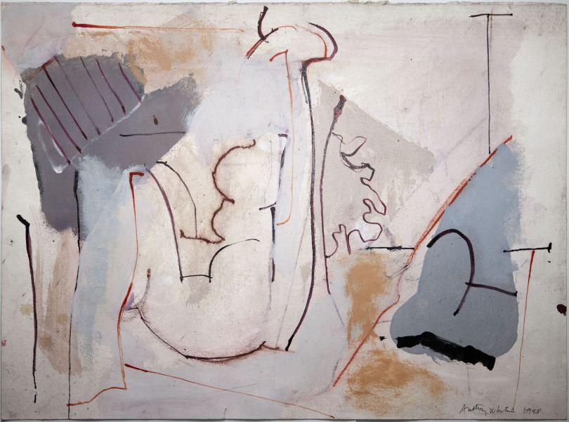 Naked Seated Woman © Anthony Whishaw RA