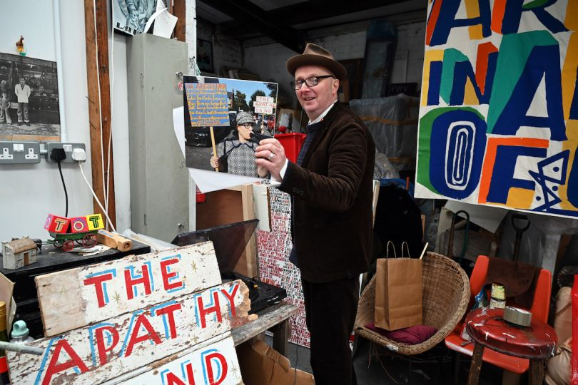 Bob and Roberta Smith, photo by John Millar