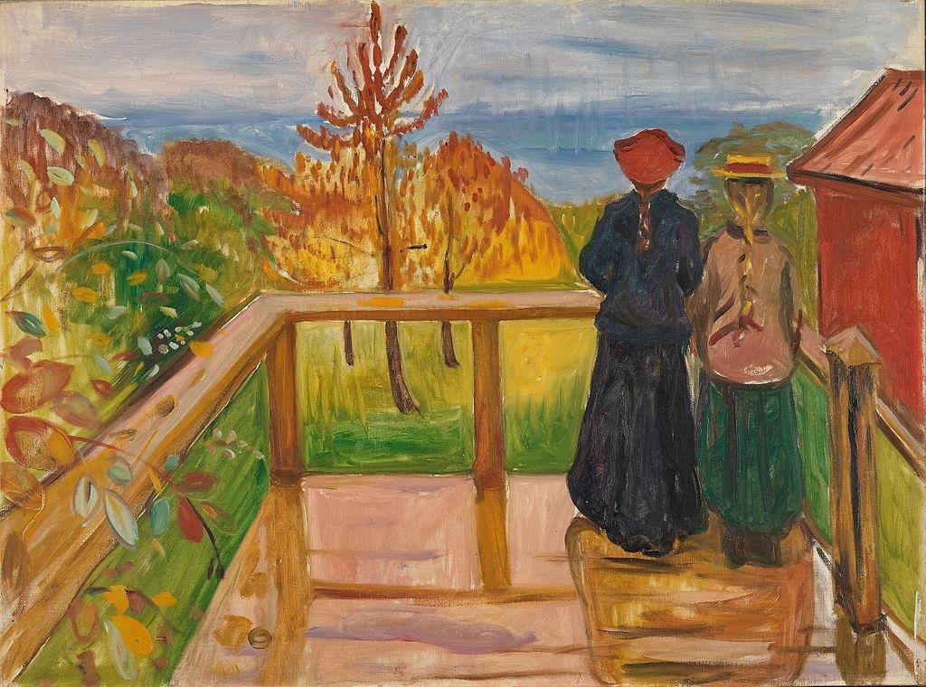 Edvard Munch [Public domain], via Wikimedia Commons