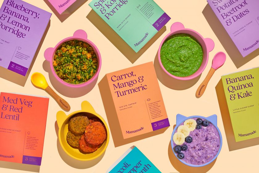 Childish Design kicks off its 'design for better purposes' with new identity for plant-based baby food