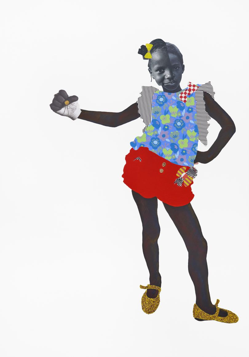 Copyright Deborah Roberts. Courtesy the artist and Stephen Friedman Gallery, London