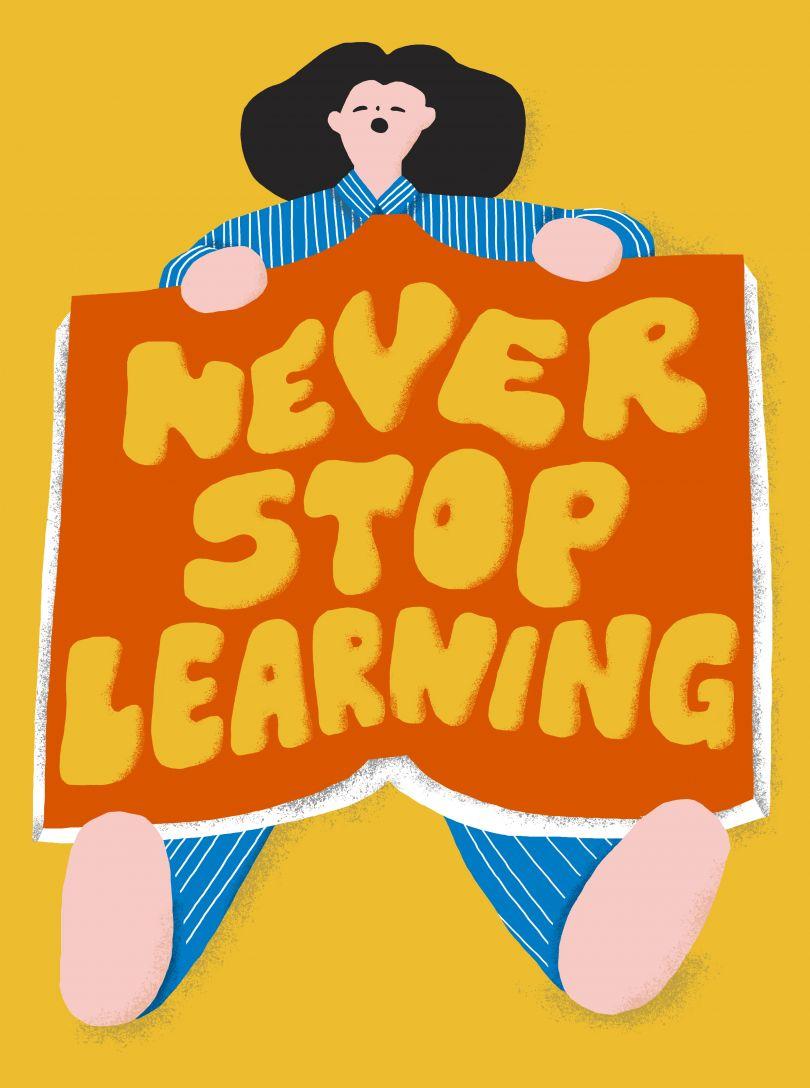 Charlene Man, Never stop learning