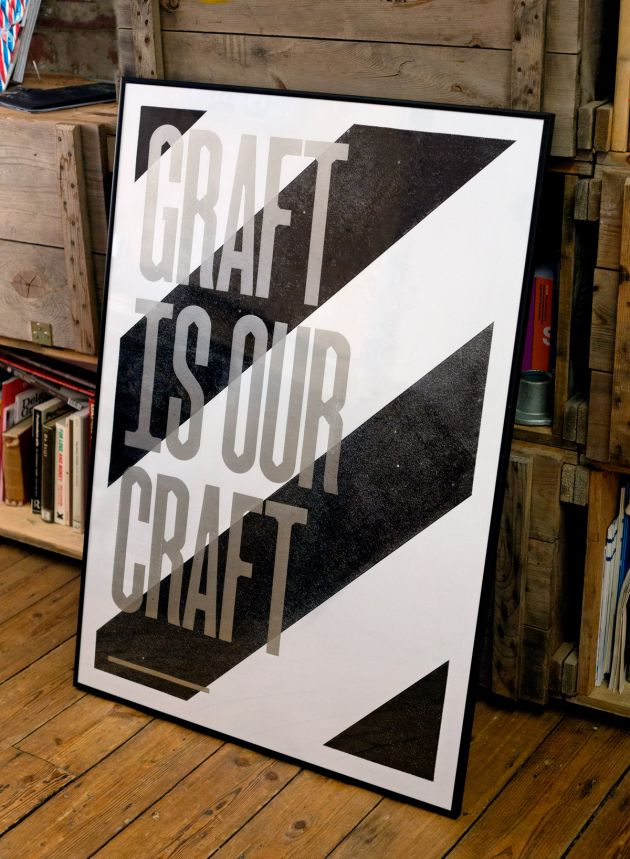 Graft typeface, designed by Split. All images courtesy of Split. Via Creative Boom submission.