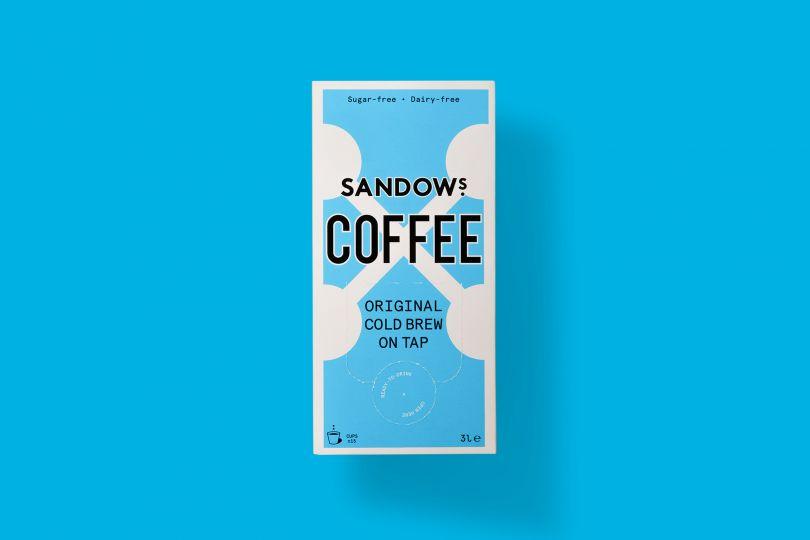 Sandows Coffee by Studio Thomas. All images courtesy of Studio Thomas. Via Creative Boom submission.
