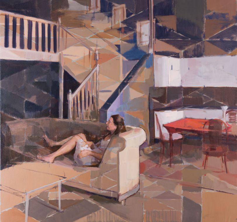 Amalgamation, Oil on Canvas, 32