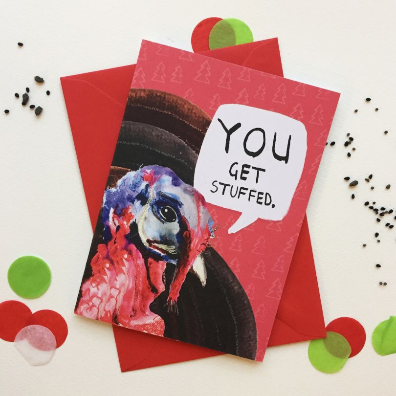 Priced at £2.50   Buy the card