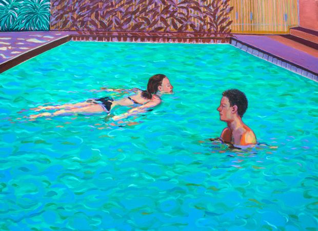 Night Villa, 2020 © Corn Shuk Mei Ho, from the series Night Swims 2020