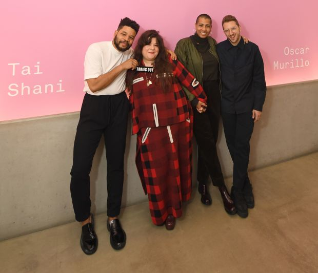 Nominated Artists, Turner Prize 2019 Evening Reception. Credit: Stuart Wilson, Getty Images