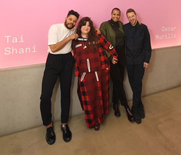 Nominated Artists, Turner Prize 2019 Evening Reception. Credit: Stuart Wilson, Getty Images