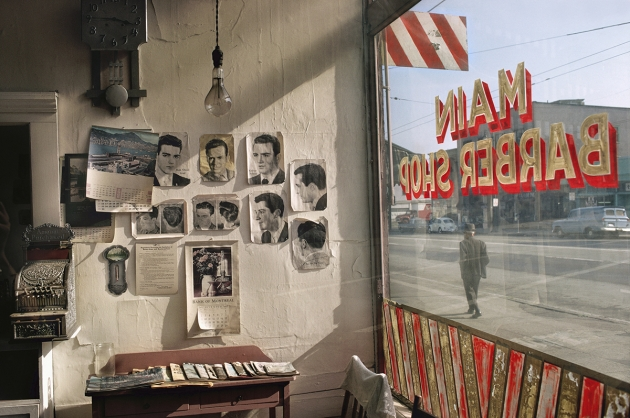 Main Barber, 1968 – © Fred Herzog