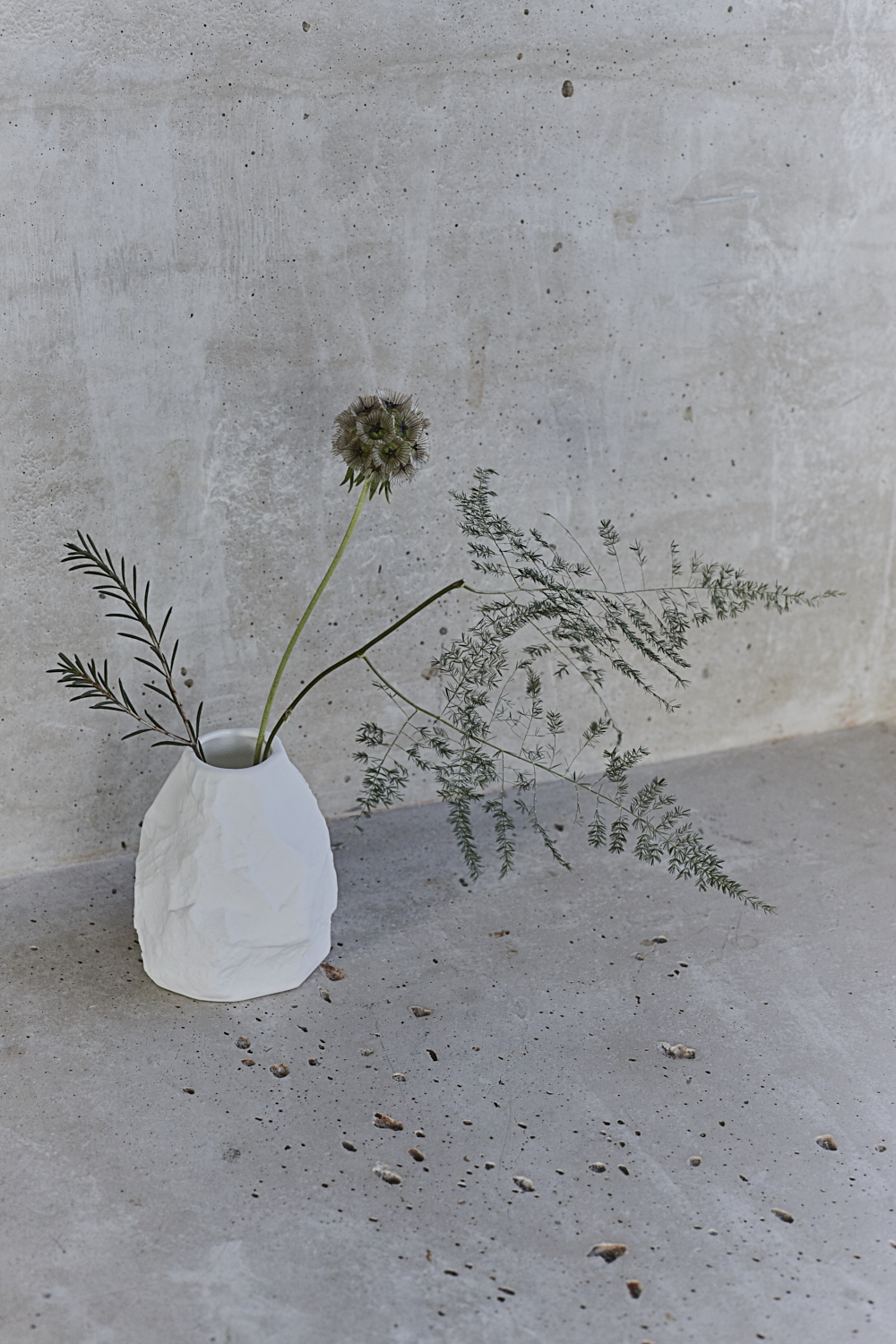 Crockery vase by Max Lamb for 1882 Ltd. Photography by Joanna Henderson.