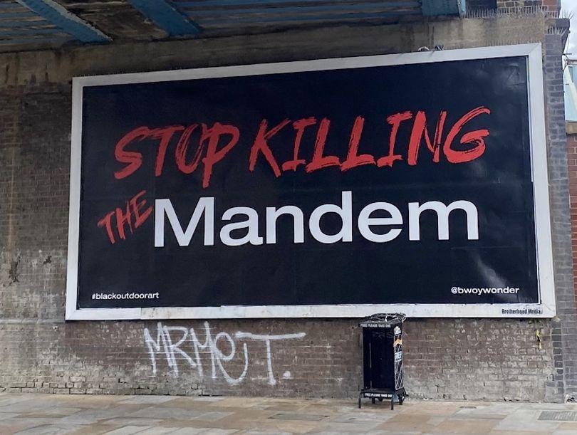 Stop Killing The Mandem by Bwoywonder