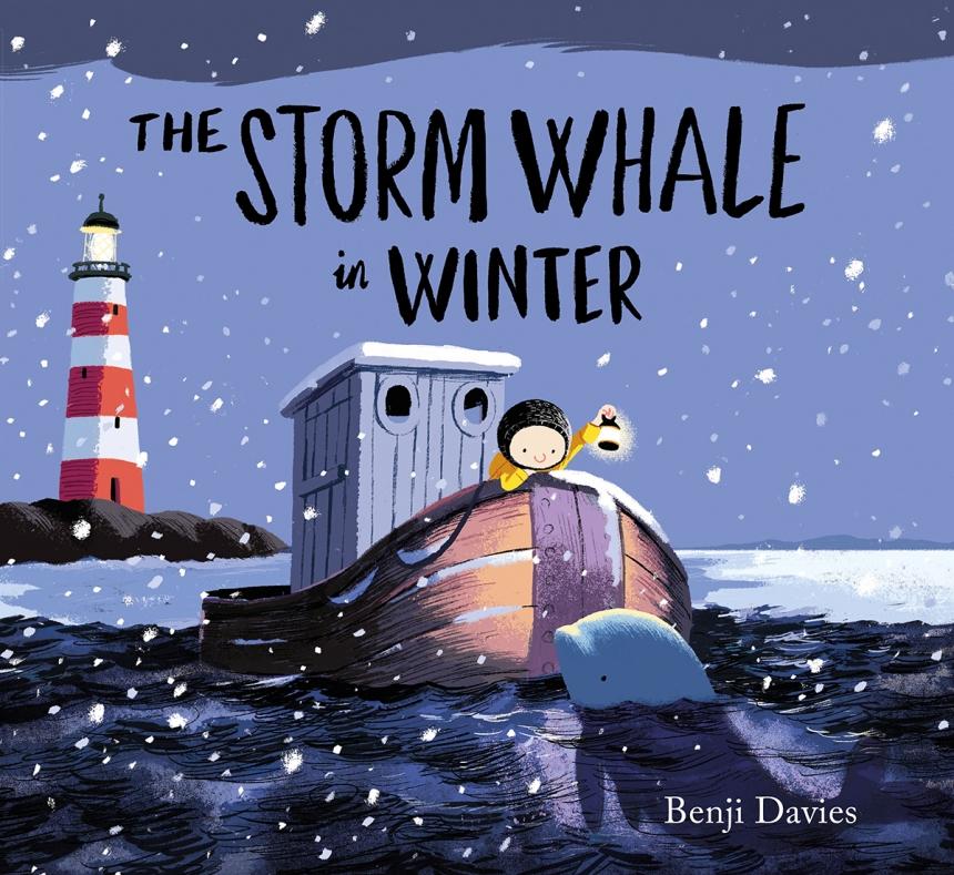 The Storm Whale in Winter – book illustration by Benji Davis | Credit: © Benji Davis