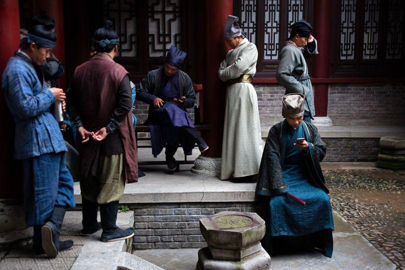 Extras, Qing Ming Shang He Tu, Hengdian World Studios © Mark Parascandola