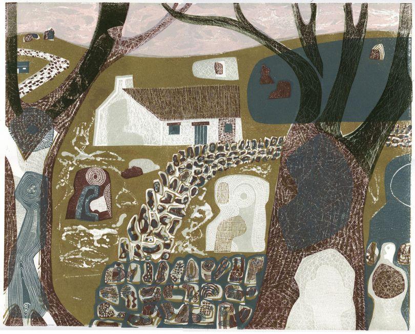 Melvyn Evans, Border Trees, 2019. Courtesy the artist