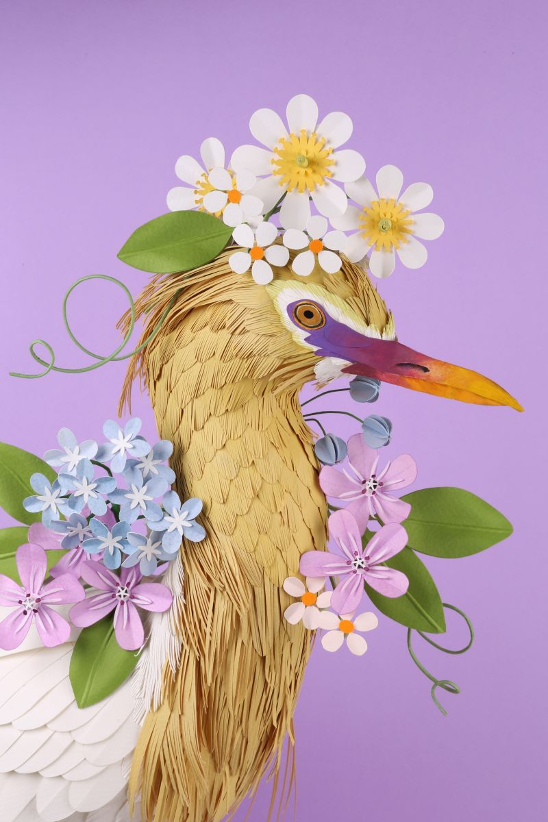 Incredible paper sculptures by Diana Beltran Herrera continue her love of nature