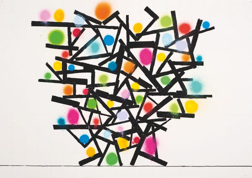 David Batchelor Atomic Drawing. Courtesy of the Artist and Ingleby, Edinburgh