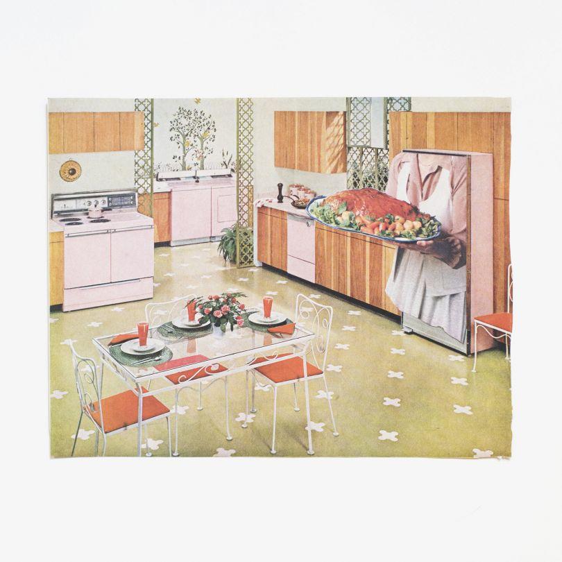 Femme Maison – Hand-cut collage