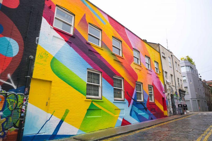 Mad C, London Mural Festival - 1 Chance Street, Shoreditch, 1 Chance Street, E1 6JT