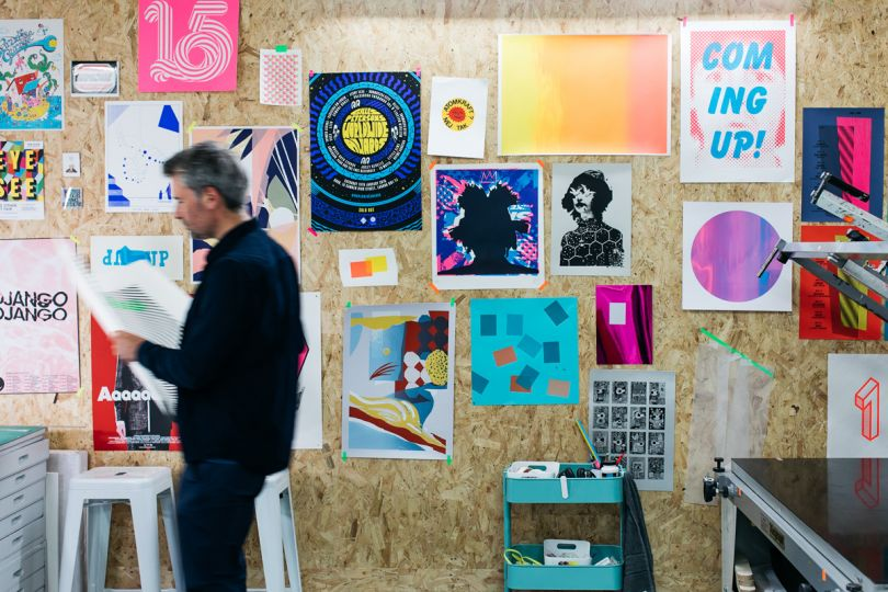 Gary Parselle at The Private Press