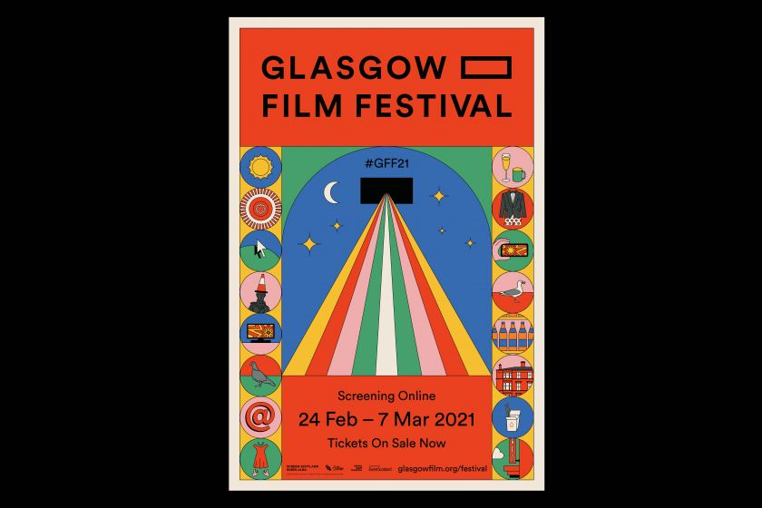O Street injects some fun and optimism in 'online at home' rebrand for Glasgow Film Festival