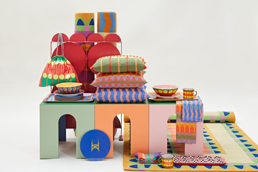 Yinka Ilori Homeware collection. All photography by Andy Stagg