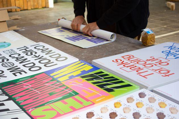 SSSS poster preparation for hospitals