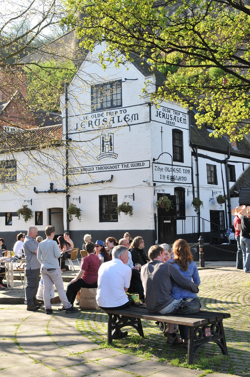 The oldest inn in England. Image Credit: Lucian Milasan / Shutterstock.com
