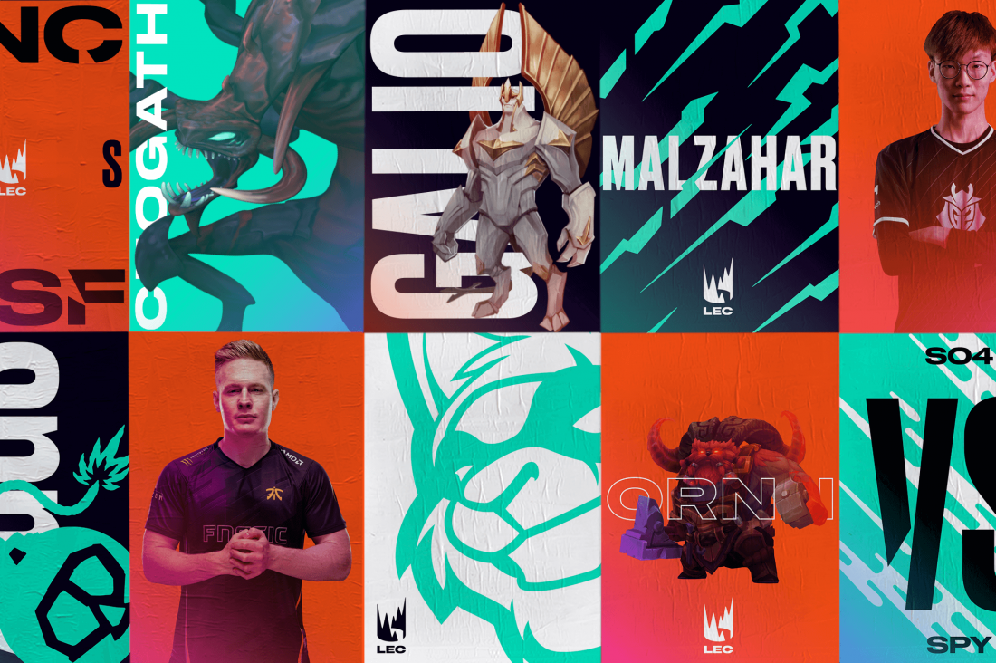 DesignStudio and Riot Games' rebrand of the League of