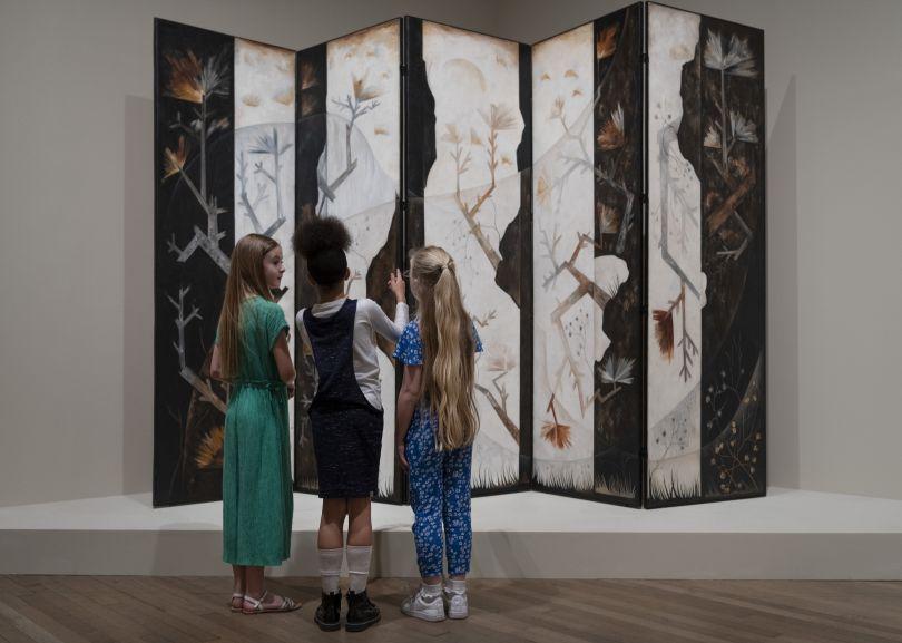 Natalia Goncharova at Tate Modern, 2019. Photo: © Tate Photography (Matt Greenwood)