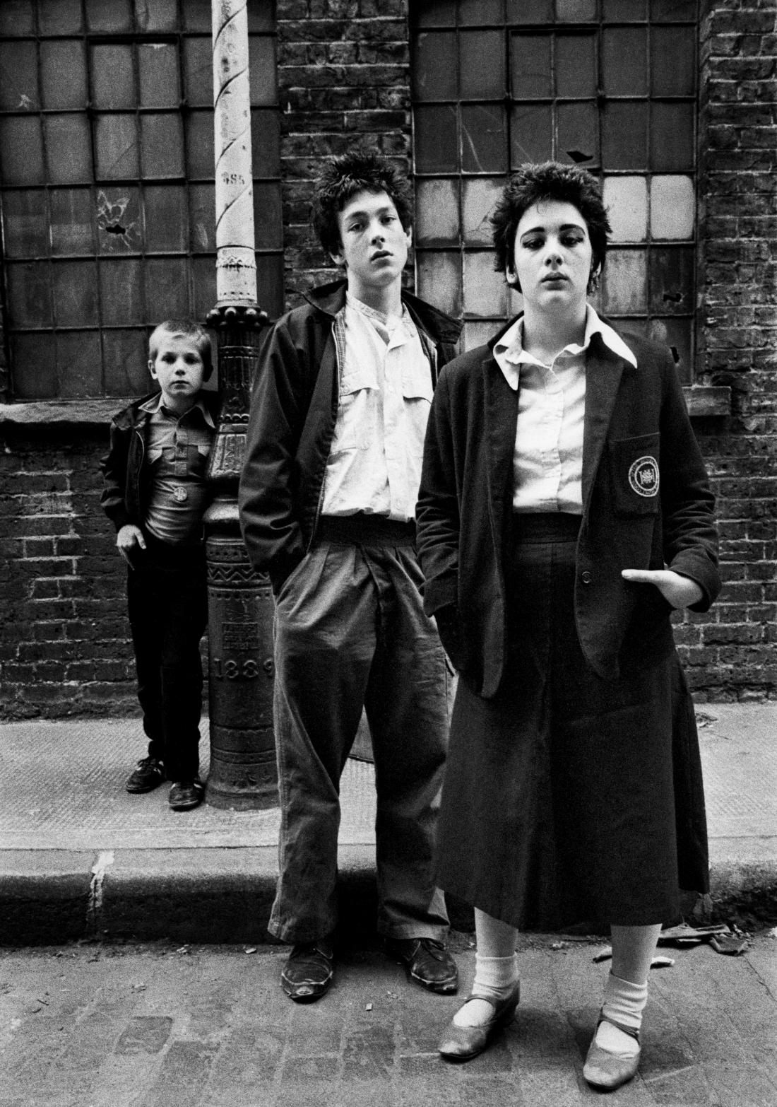 RAR fans Paul Duncan and Lucy Tilney, Bethnal Green, East London 1978