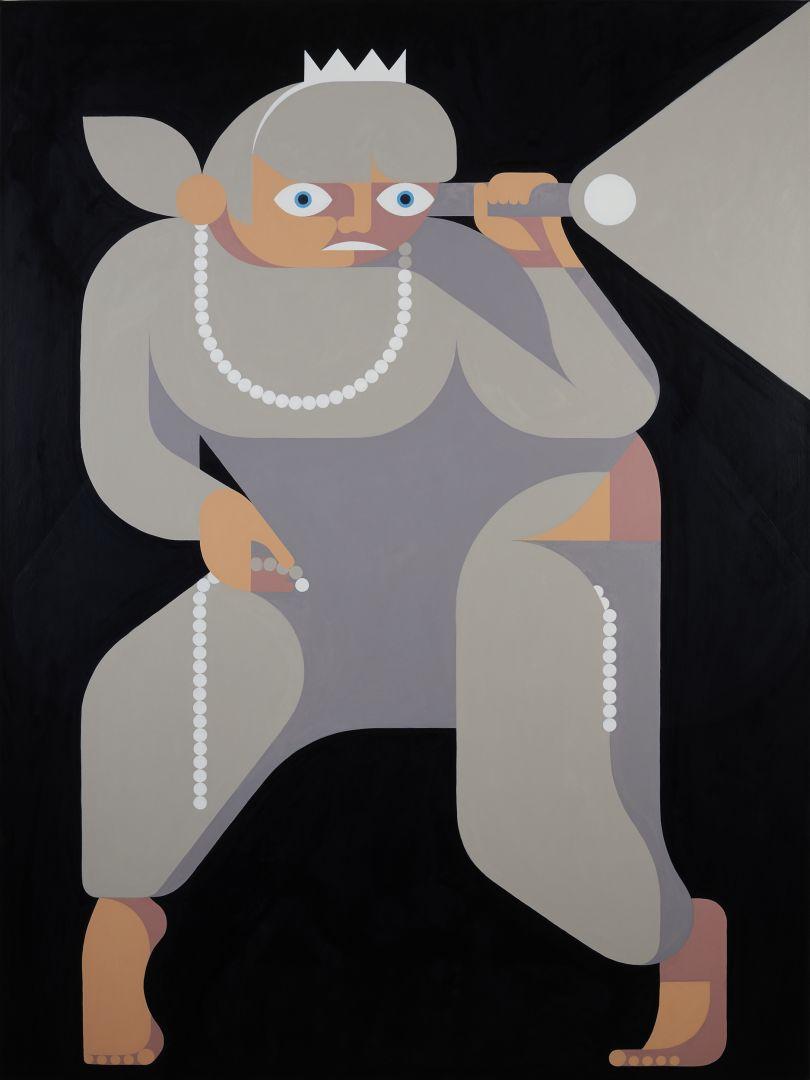 Robber Baroness, 2016/17 © Leonhard Hurzlmeier, Courtesy Rachel Uffner Gallery, New York