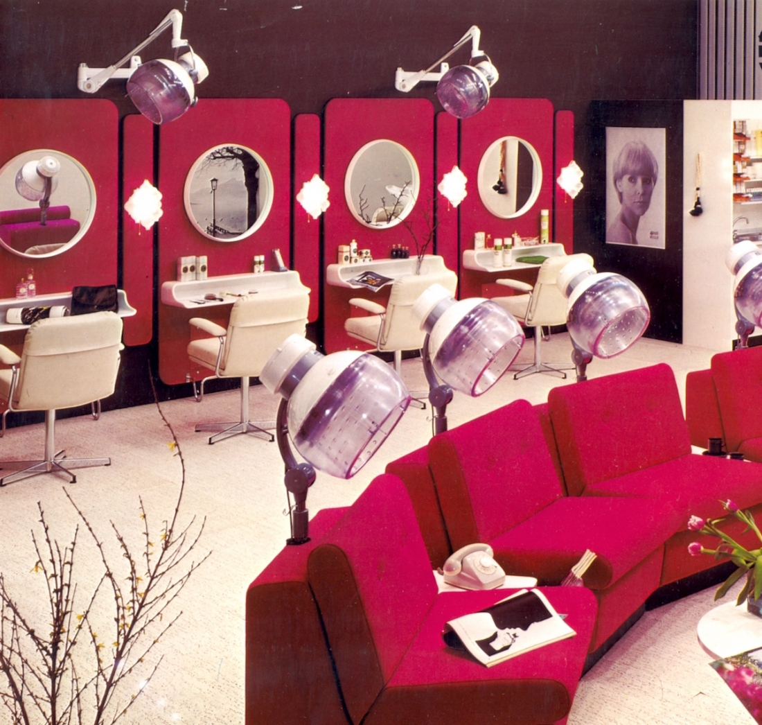 Welonda Salon 1974 - Courtesy Wella Archives, Coty Inc.