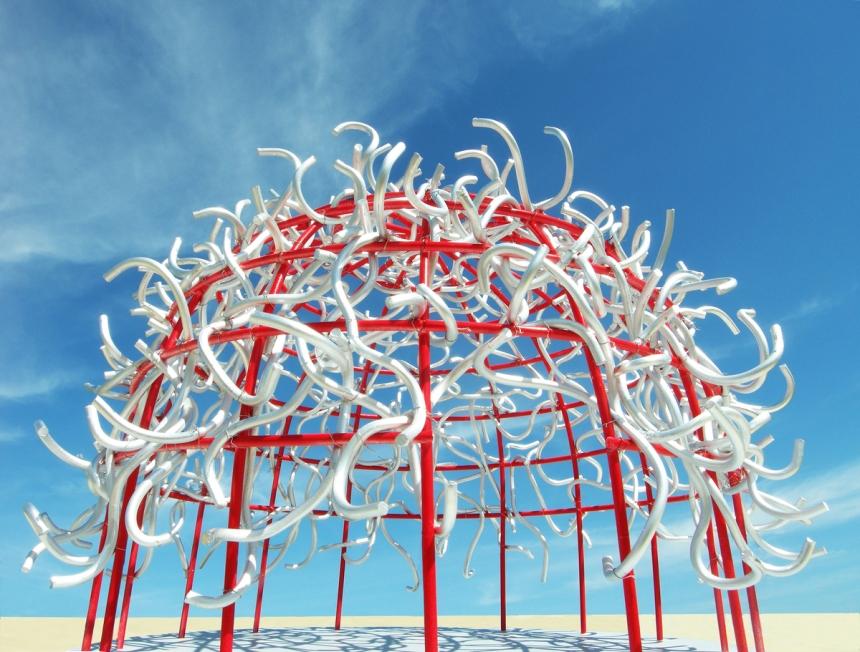 The Energetic Pavilion - © Michael Jantzen